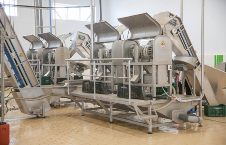 10.PVG Hellas - Machinery specialized in olive selection